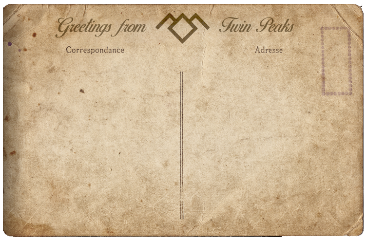 twin peaks postcard